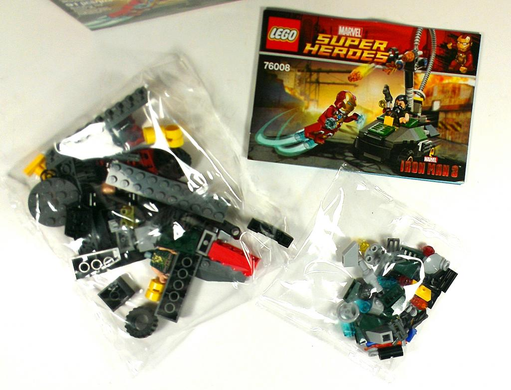 A look at the new marvel super heroes lego sets for iron - Iron man 3 lego ...