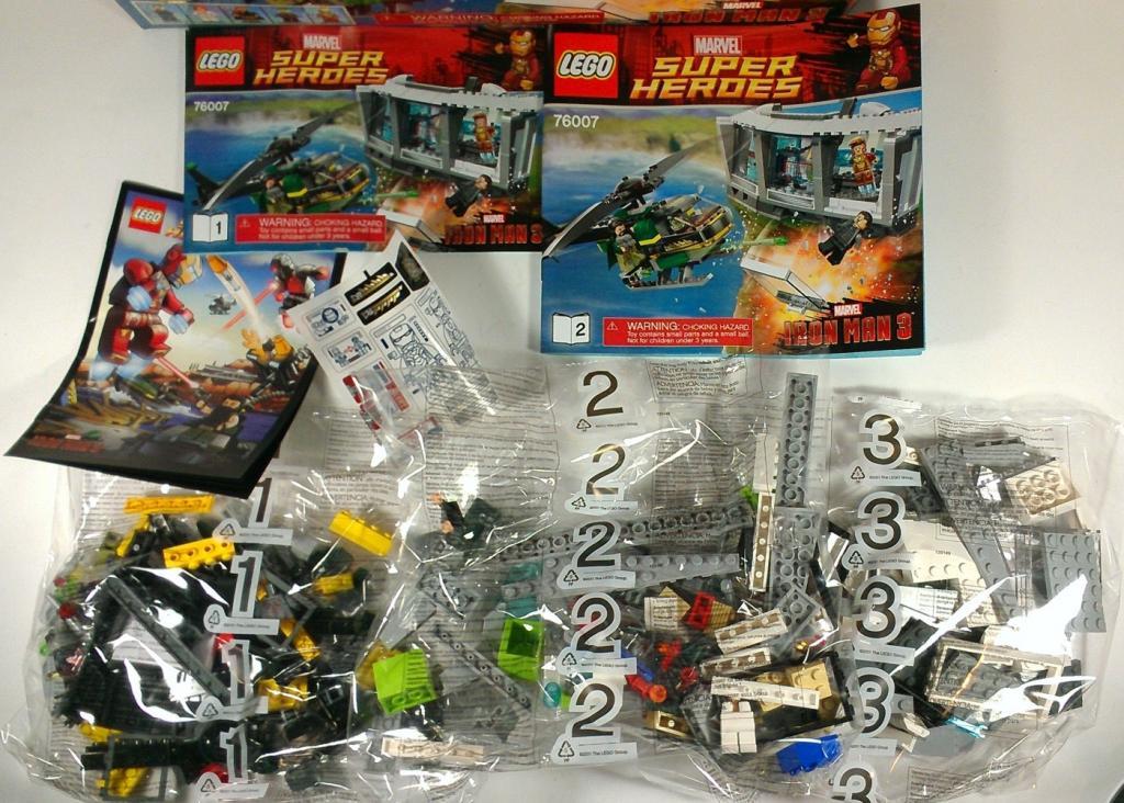 Iron Man 3 The Mandarin Pepper Potts Tony Stark Extremis Lego Malibu